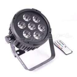 Reflektor sceniczny LED Ibiza Light PAR RGBAW-UV