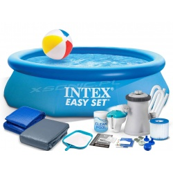 Basen ogrodowy zestaw 16w1 rozporowy Easy Set 305 x 76cm Intex 28122