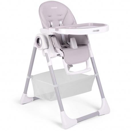 Krzesełko do karmienia ze stolikiem dla dzieci Ricokids Belo leżaczek na kółkach z koszykiem