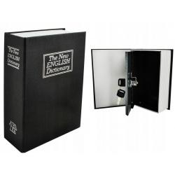 Książka sejf skrytka w książce niepozorny schowek na kosztowności 18 x 11,5cm