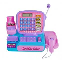 Duża kasa sklepowa dla dzieci zabawka w sklep skaner kalkulator mikrofon