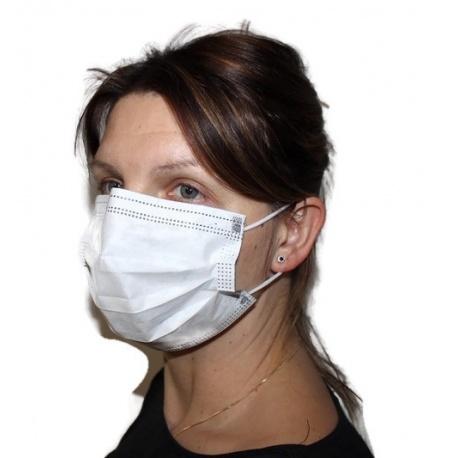 Maseczki chirurgiczne opakowanie 50 sztuk maska medyczna ochronna