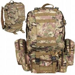 Plecak militarny taktyczny wojskowy survival 48,5l duży i pojemny