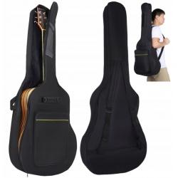 Pokrowiec do gitary klasycznej akustycznej szelki na gitarę troba schowek na nuty
