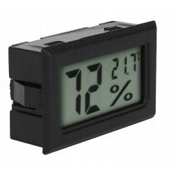 Termometr higrometr miernik wilgotności wpuszczany do zabudowy 2w1