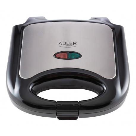 Opiekacz do kanapek pysznych grzanek na ciepło sandwich Adler AD 3015
