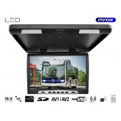 Monitor podwieszany 19 cali LED True Bright odtwarzacz plików SD USB IR FM