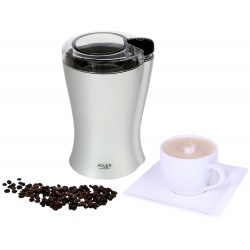 Młynek elektryczny do mielenia kawy Adler AD 443 łatwa obsługa