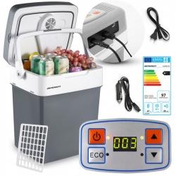 Lodówka turystyczna Icemax 32 litry tryb ECO 12/230V blokada ładowarka USB