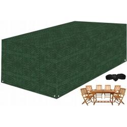 Pokrowiec plandeka na meble ogrodowe 180 x 240 x 100 stół i krzesła