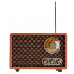 Piękne radio retro z dużą skalą analogową i Bluetooth Adler AD 1171
