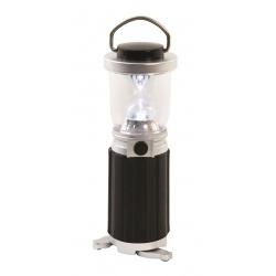 Lampa turystyczna na kemping 4 LED mała i poręczna wolnostojąca i do powieszenia