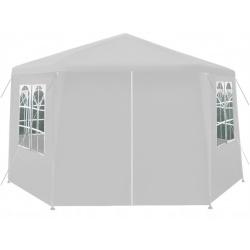 Pawilon ogrodowy namiot Altana 6 ścian otwierany na suwak sześciokąt