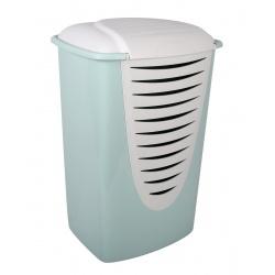 Kosz na pranie bieliznę EDA z pokrywą 70L do łazienki COMFORT 3 kolory