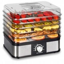 Suszarka do grzybów owoców warzyw 5 tacek wyświetlacz Timer 250W pojemność 9l