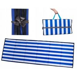 Mata plażowa piknikowa składana koc na plaże kamieniste gruba 2cm