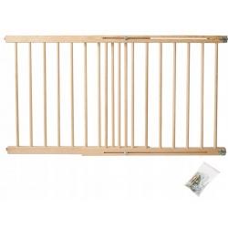Bramka brama bezpieczeństwa zabezpieczająca schody drzwi 72-122 cm