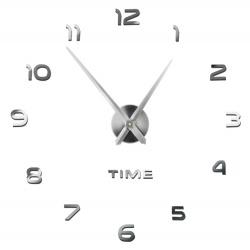 Zegar ścienny do zbudowania zrób to sam DIY 3D lustro na ścianę 60-130cm