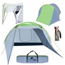 Namiot turystyczny 4 osobowy duże iglo z przedsionkiem COLORADO