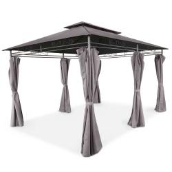 Pawilon ogrodowy altana namiot 3 x 4 metra ścianki boczne rozkładane