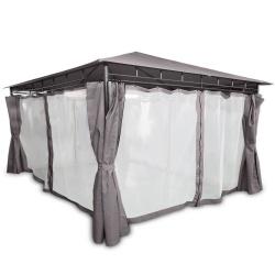 Pawilon ogrodowy altana namiot 3 x 4 metra moskitiera ścianki boczne rozkładane