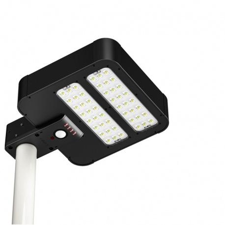 Solarna lampa uliczna LED z czujnikiem ruchu panel słoneczny 15W ogrodowa oświetlenie alejki czujnik zmierzchowy PowerNeed