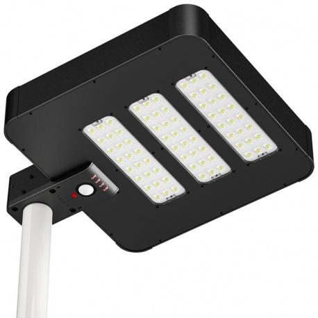 Solarna lampa uliczna LED z czujnikiem ruchu panel słoneczny 38W ogrodowa oświetlenie alejki czujnik zmierzchowy PowerNeed