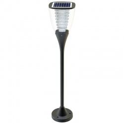 Solarna lampa ogrodowa LED stojąca lampa ogrodowa PowerNeed panel słoneczny czujnik zmierzchu