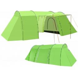 Namiot 4-osobowy turystyczny 2 sypialnie przedsionek miejsce na kuchnię