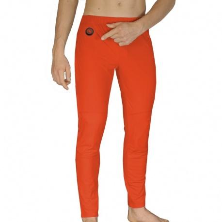 Spodnie ogrzewane pomarańczowe akumulator grzejące S/M/L/XL GP1R GLOVii