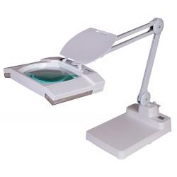 Lupa Levenhuk Zeno Lamp ZL23 LUM powiększenie 2x rozmiar soczewki 190x160 mm oświetlenie żarówkowe