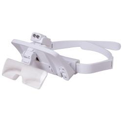 Okulary powiększające Levenhuk Zeno Vizor G7 rozmiar soczewki 100x30 mm oświetlenie LED