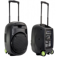 Kolumna mobilna Ibiza Sound PORT12VHF-MKII nagłośnienie mobilne Bluetooth