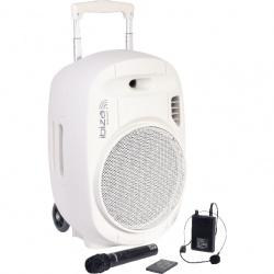 Kolumna mobilna Ibiza Sound PORT12UHF nagłośnienie mobilne mikrofon nagłowny