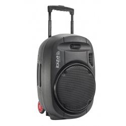 Kolumna aktywna mobilna Ibiza Sound PORT15UHF-MKII nagłośnienie mobilne mikrofony