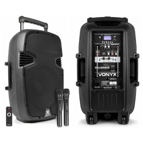 Kolumna mobilna Vonyx SPJ-PA912 moc 500W tuner radiowy FM Bluetooth