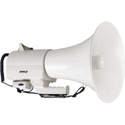 Wielki megafon MEGA bardzo mocny megafon o dużym zasięgu mikrofon odpinany