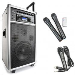 Mobilne nagłośnienie Vonyx ST100 MK2 kolumna wzmacniacz 250W Bluetooth