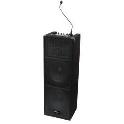 Kolumna mobilna z mikrofonami Ibiza Sound STANDUP212 głośnik 30CM 240W
