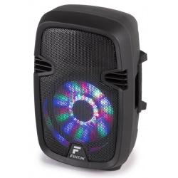 """Kolumna mobilna z mikrofonem Fenton FT8LED 8 """" 300W z oświetleniem disco"""