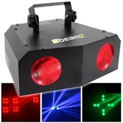 Podwójny efekt LED BeamZ Nomia wiszące oświetlenie dyskotekowe sceniczne