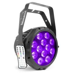 Reflektor aluminiowy zewnętrzny LED PAR BeamZ BWA412 oświetlenie sceny