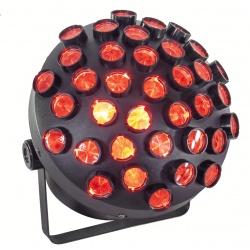 Efekt dyskotekowy oświetleniowy LED AFX MUSHROOM-2 wiązki linie światła