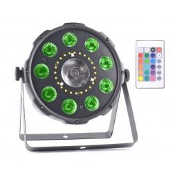 Reflektor dyskotekowy efekt oświetleniowy LED RGBW DMX AFX COMBOPAR-FX