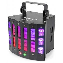Zaawansowany efekt oświetleniowy LED DERBY laser stroboskop BeamZ MAGIC2