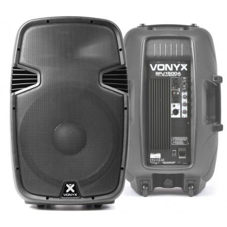 Kolumna aktywna Vonyx SPJ-1500A 800W wzmacniacz z crossoverem na kółkach