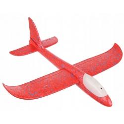 Samolot styropianowy LED szybowiec duża rzutka ze styropianu piankowy