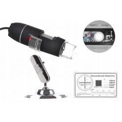 Mikroskop cyfrowy USB z podświetleniem LED 1600x na USB do komputera