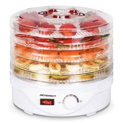 Suszarka do grzybów owoców warzyw 5 tacek Berdsen moc 250W pojemność 3l