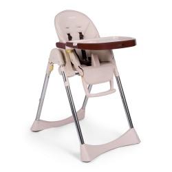 Krzesełko do karmienia Lindo 2w1 stolik dla dzieci leżaczek na kółkach